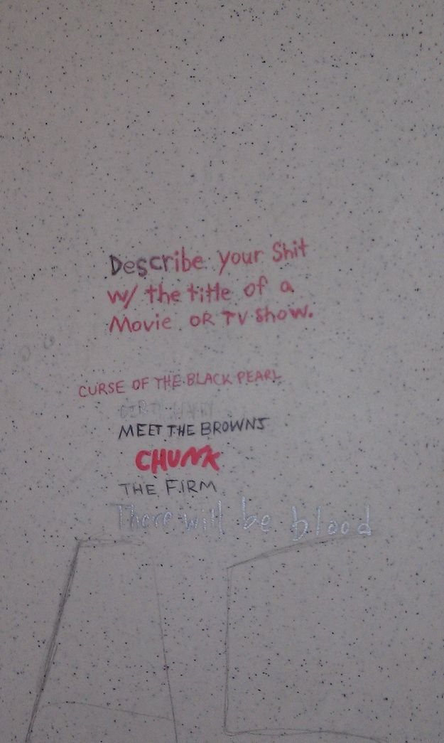 The Most Poignant Thoughts Found Scrawled on Public Bathroom Stalls