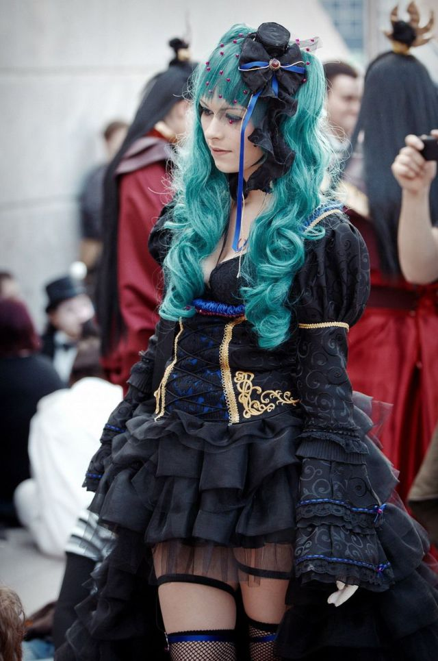 Cosplay Girls at Leipsiger Buchmesse 2013