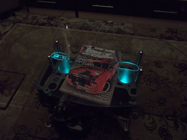 Stylish Self-Made Engine Coffee Table Men Will Love