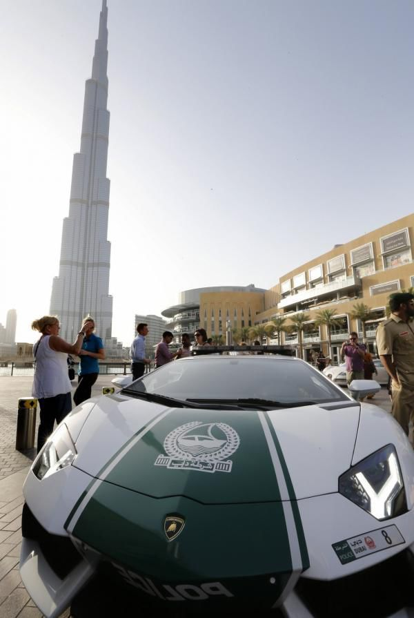 The Dubai Police Really Do Drive around in Style