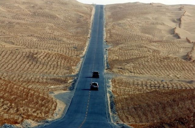 The Longest Desert Highway in the World