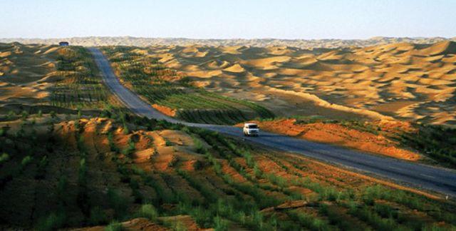 The Longest Desert Highway in the World