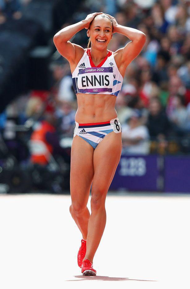 Jessica ennis sexy ass british olympic champion ameman - 1 part 8