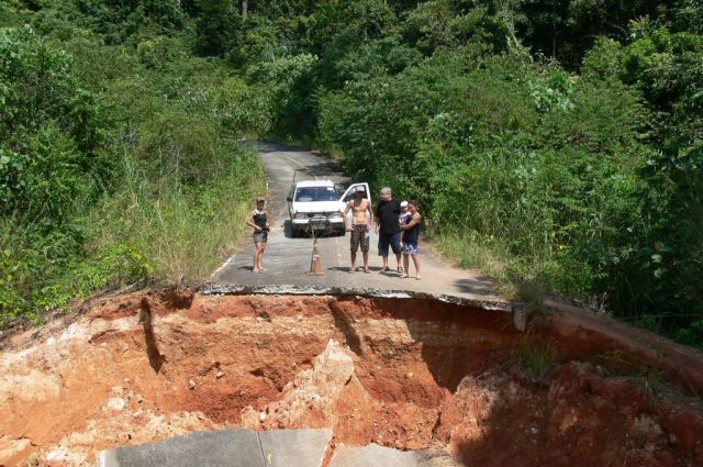 This Thailand Road Needs Serious Help