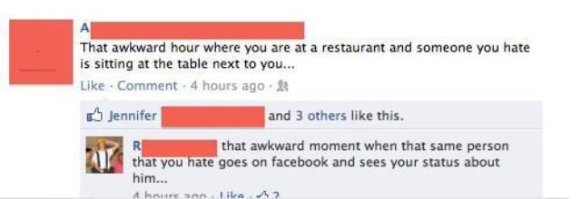 Facebook: Bringing Dumb People Together Since 2004