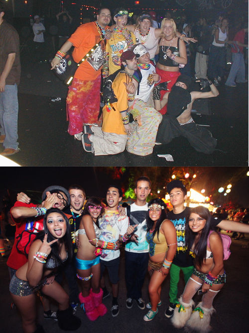 Rave in the '90s vs. Rave Now