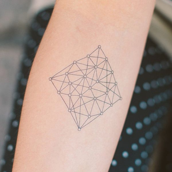 Attractively Angular Geometric Tattoos