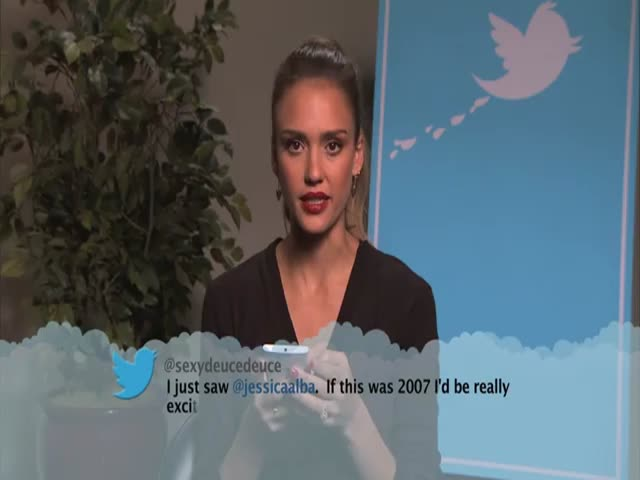 Celebrities Reading Mean Tweets about Themselves #4