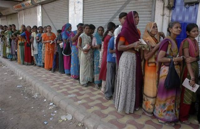 How the Queues Look in India