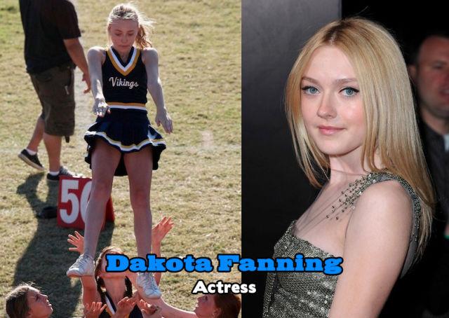 Surprising Celebrity Cheerleaders