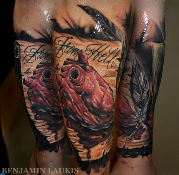 Incredibly Artistic Tattoos