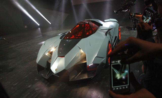 A Sleek New Lamborghini Concept Car