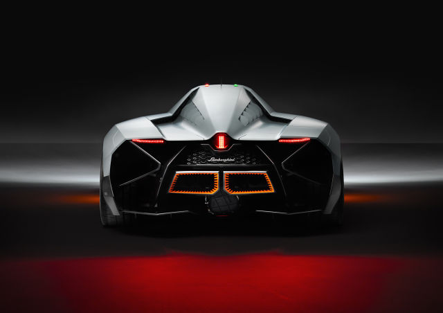 A Sleek New Lamborghini Concept Car