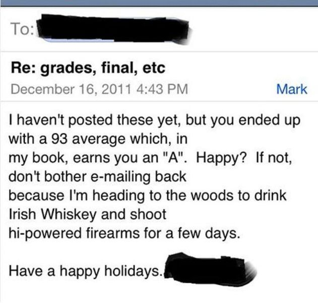 College Professors Have Some Fun with Their Students