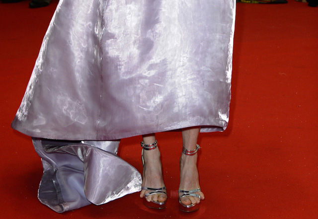 Julianne Moore's Runaway Toes at Cannes
