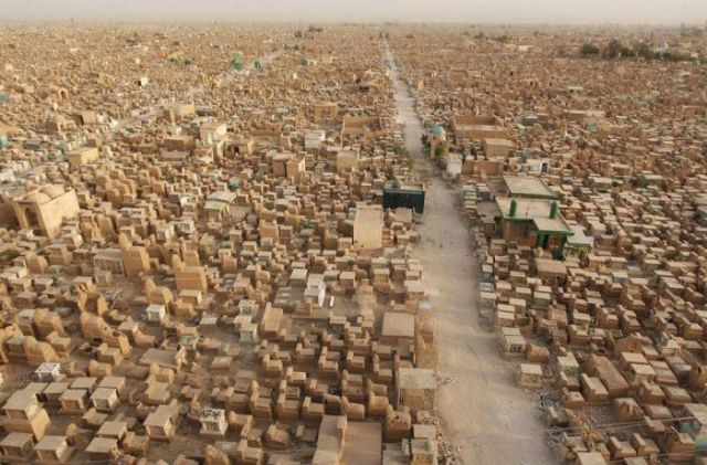 The Biggest Cemetery on the Planet