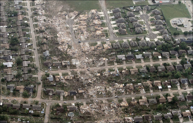 The Devastating After-Effects of the Oklahoma Tornado