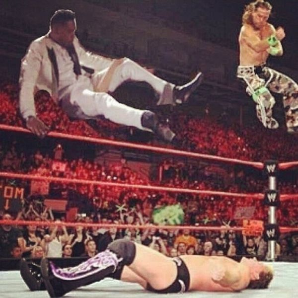 The Miguel Leg Drop Has Taken the Internet By Storm