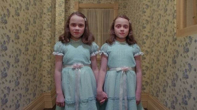 """The Shining"" Twins Past and Present"