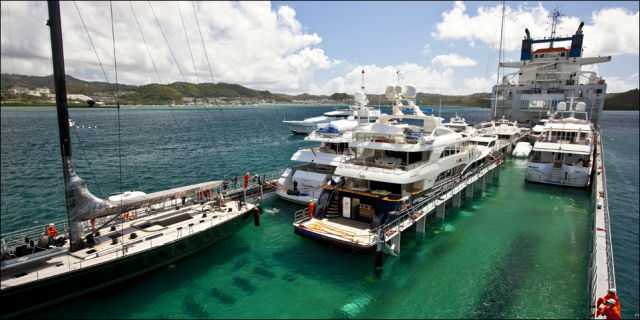 Annual Yacht Migration from the Caribbean Sea