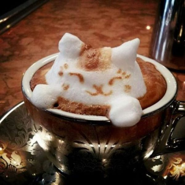 Latte Art Is Taken to the Next Level with These Remarkable Creations