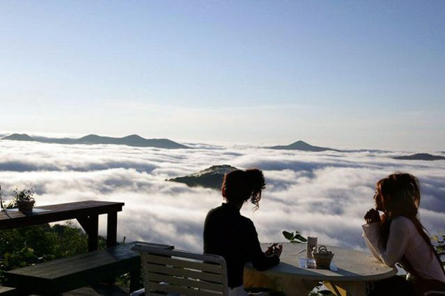 Immerse Yourself in This Dreamlike Setting above the Clouds