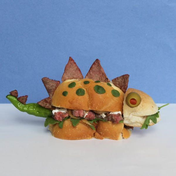 Sandwiches Become Works of Art