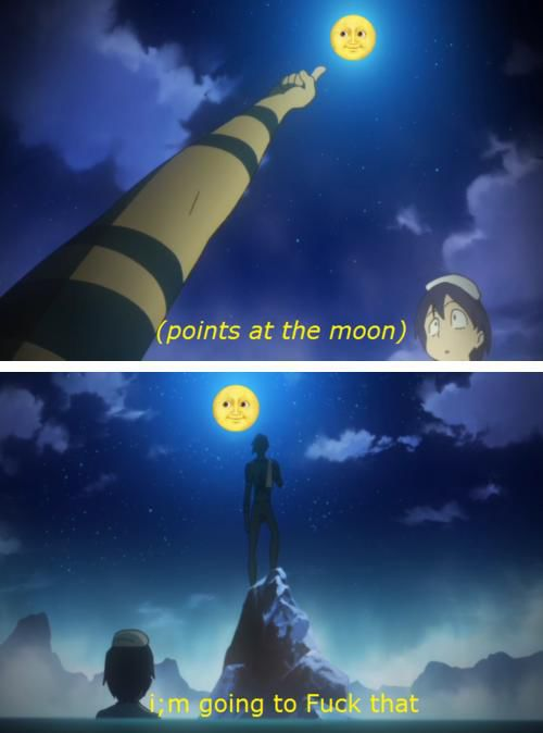 The Weirdest Things Happen on Anime Shows