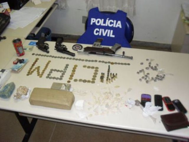 What the Average Loot Seized By the Brazilian Police Looks Like