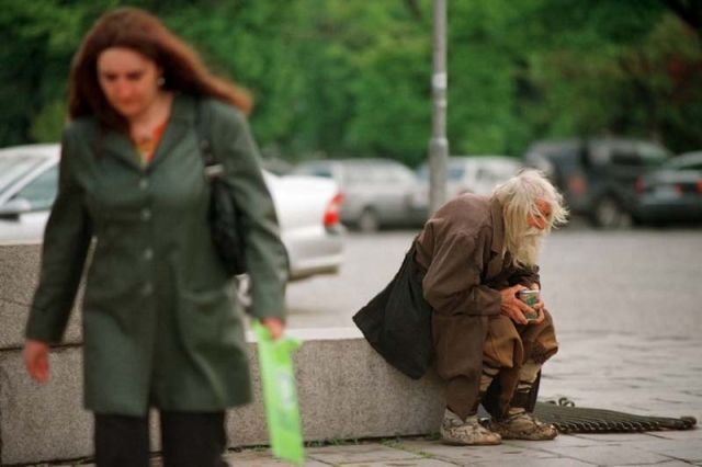 A Street Beggar Who Is Really an Angel in Disguise