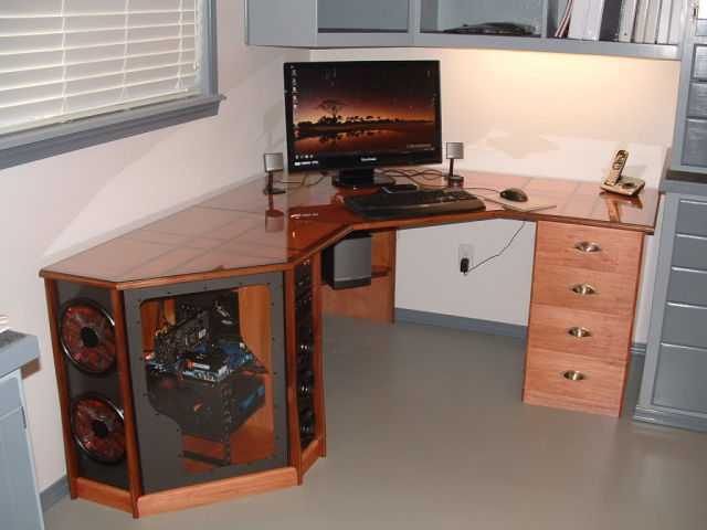 totally original homemade wooden workstation 129 pics