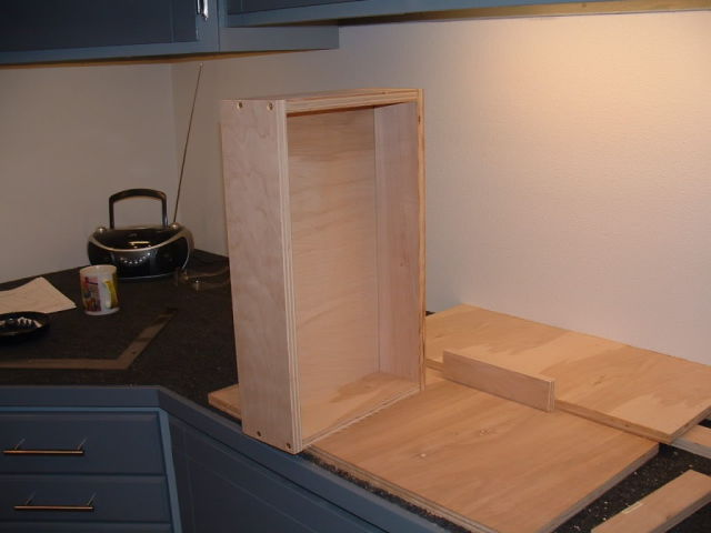 Functional and Totally Original Homemade Wooden Workstation