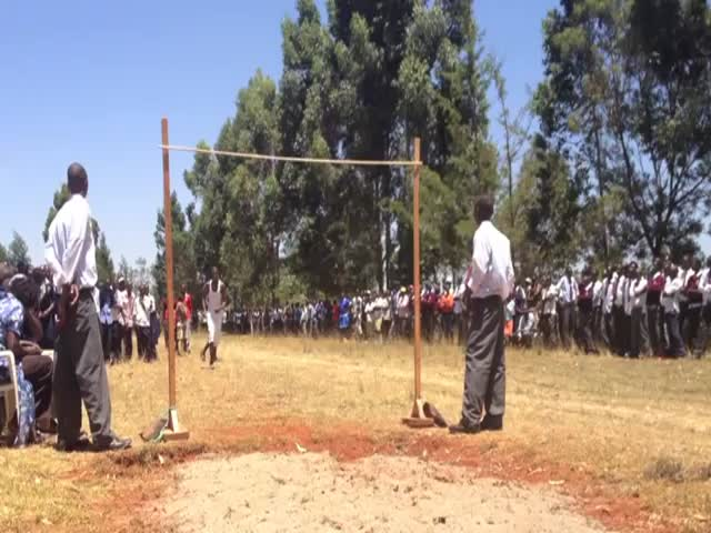 Incredible High School High Jump in Kenya