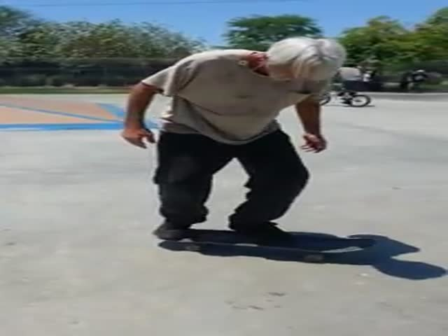 Skateboards Are like Bikes, You Never Forget How to Ride 'Em