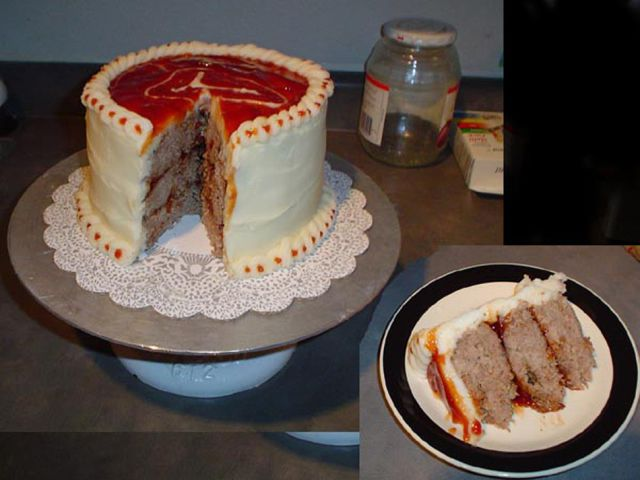 A Highly Unusual Protein Packed Cake