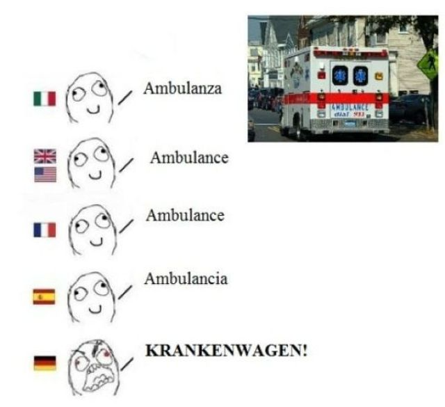 I Always Knew German Was a Special Language