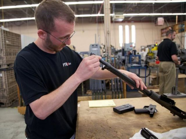 Inside an American Semi-Automatic Rifle Factory