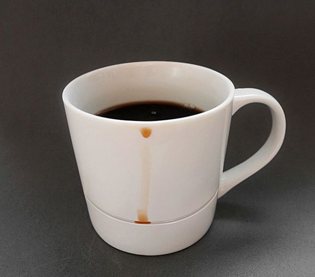 The No-Spill Coffee Mug