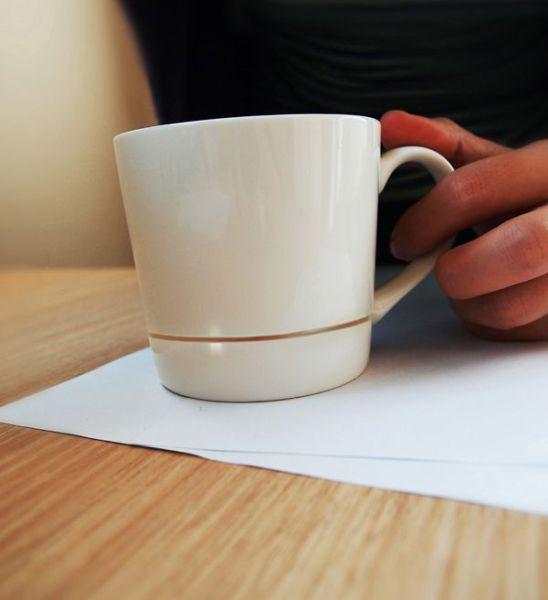 The No-Spill Coffee Mug