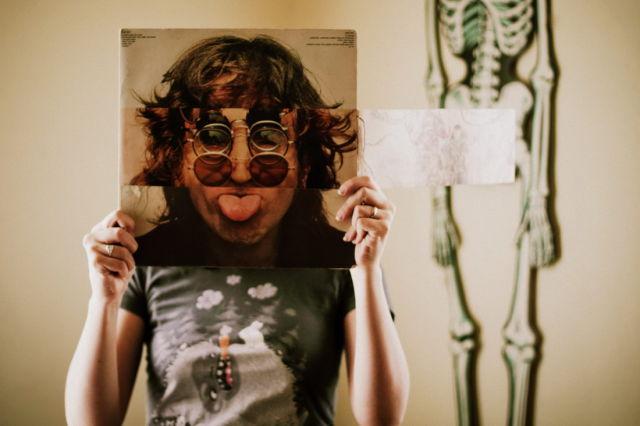 Creative Album Art with Faces