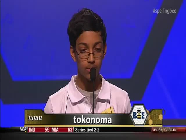 This Spelling Bee Contestant Goes Ballistic after Winning
