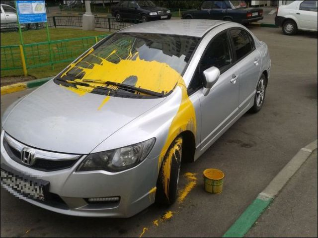 This Is What Car Revenge Looks Like