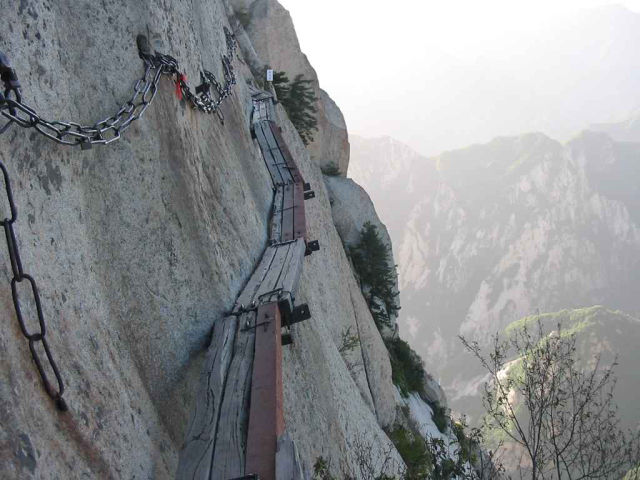 A Mountain Climb That Is Not for the Faint-Hearted