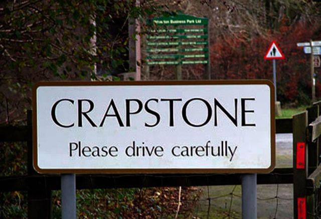 Places That Have Excruciatingly Embarrassing Names