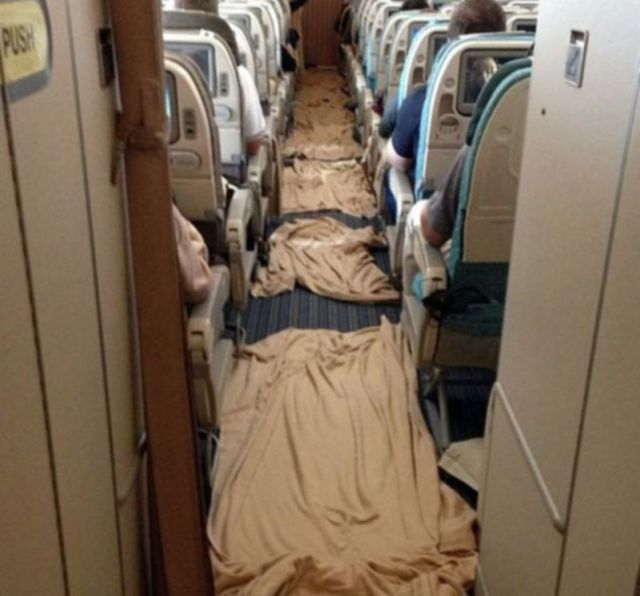 The Mid-Air Mess Caused by In-Flight Turbulence