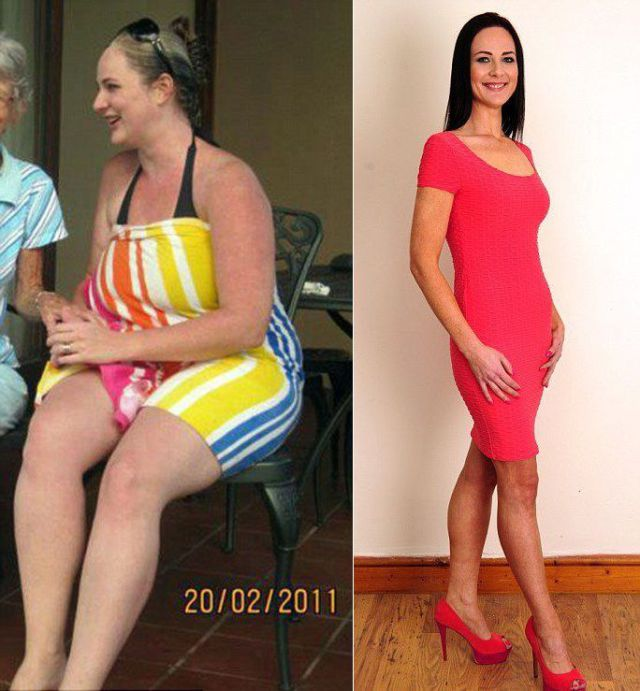 A Woman Who Credits Divorce for Astounding Weight Loss