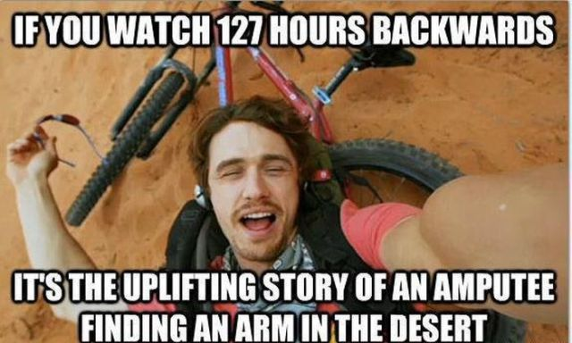 This Is What Watching Movies Backwards Would Be Like