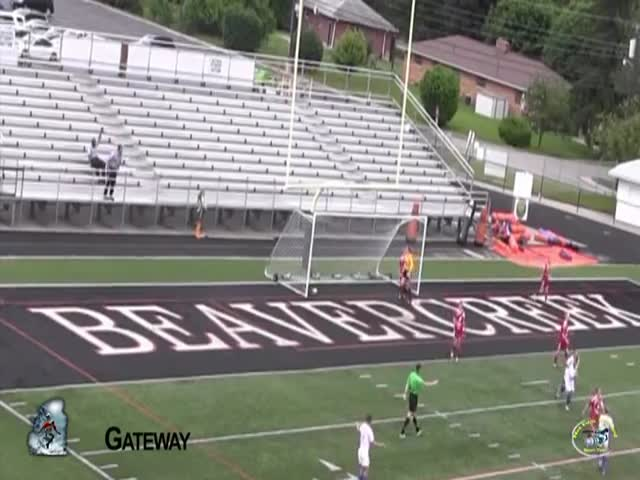 Female Soccer Player Scores an Epic Bicycle Kick Goal