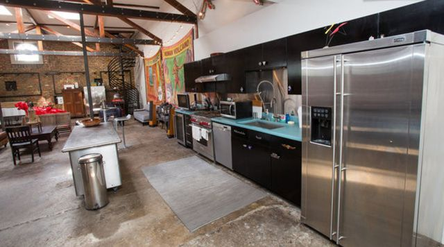 This Converted Gas Station Is Every Man's Dream House!