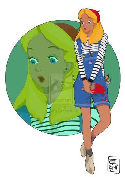 What Cartoon Characters Would Wear If They Lived Now